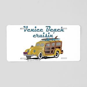 Venice Beach Cruisin Aluminum License Plate
