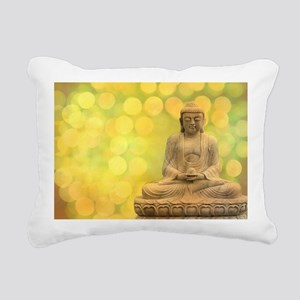 buddha - Erleuchtung - g Rectangular Canvas Pillow