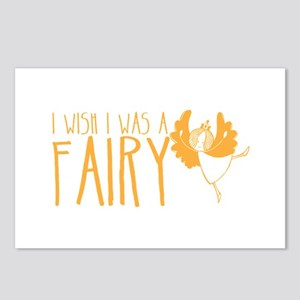 I wish I was a FAIRY Postcards (Package of 8)
