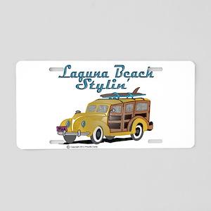 Laguna Beach Stylin Aluminum License Plate