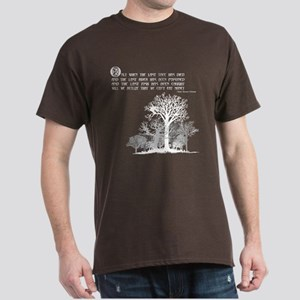 Native American Proverb Dark T-Shirt