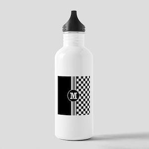 Monogrammed Stylish designer Stripes and checks Wa
