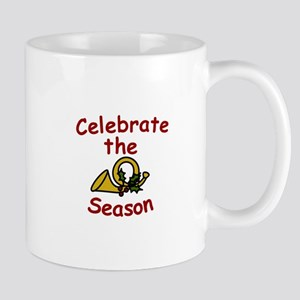 Celebrte The Season Mugs