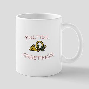 Yuletide Greetings Mugs