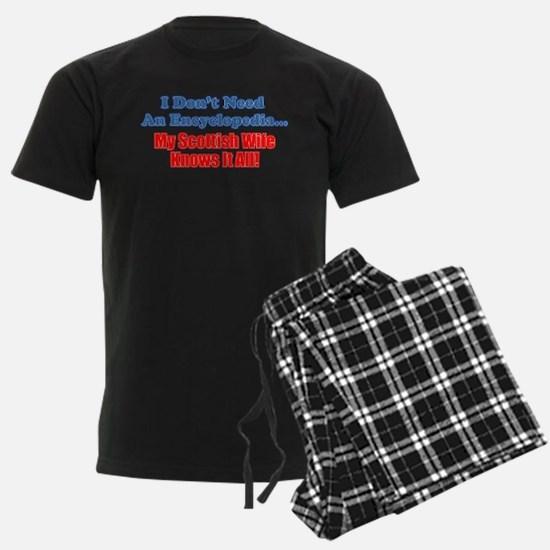 My Scottish Wife Knows It All Pajamas