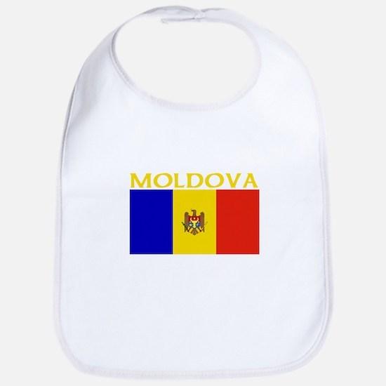Moldova Flag II (Dark) Bib