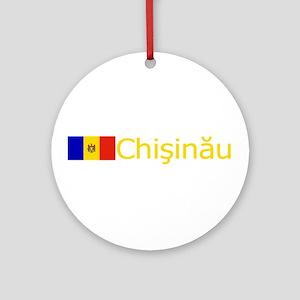 Chisinau, Moldova Ornament (Round)