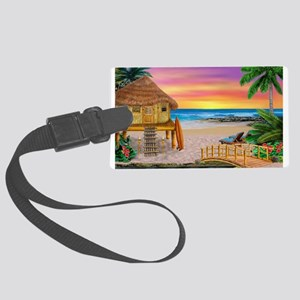 MY LITTLE GRASS SHACK Luggage Tag