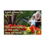 Love Grows Mini Poster Print