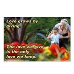 Love Grows Postcards (Package of 8)