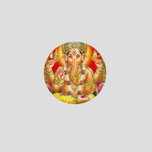 GANESH HINDU GOD Mini Button