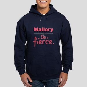 Personal She Is Fierce - Mallory Hoodie (dark)