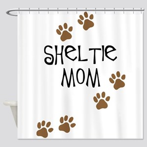 Sheltie Mom Shower Curtain