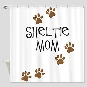 Sheltie Mom Shower Curtain