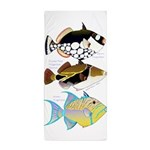 3 Triggerfish Beach Towel