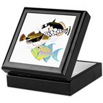 3 Triggerfish Keepsake Box