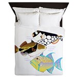 3 Triggerfish Queen Duvet