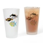 3 Triggerfish a Drinking Glass