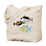 3 Triggerfish a Tote Bag