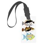 3 Triggerfish a Luggage Tag