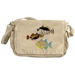 3 Triggerfish a Messenger Bag