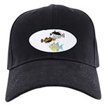 3 Triggerfish a Baseball Hat