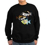 3 Triggerfish a Sweatshirt