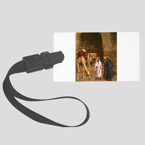 arabs Large Luggage Tag