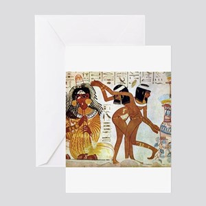 egyptian music Greeting Cards