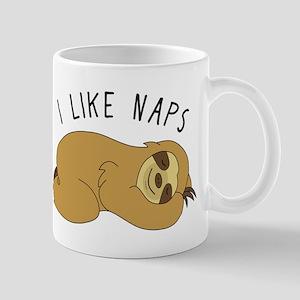 I Like Naps - Napping Sloth Mugs