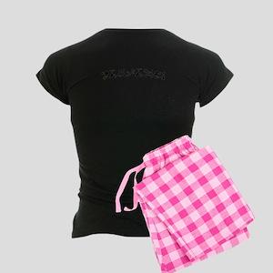 Blaylock Old Language Women's Dark Pajamas