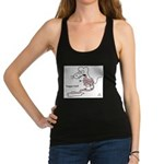 tongue Racerback Tank Top