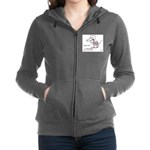 tongue Women's Zip Hoodie