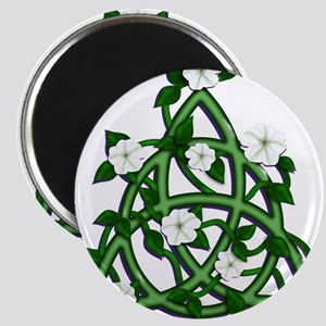 Triqueta with Moonflowers Magnets