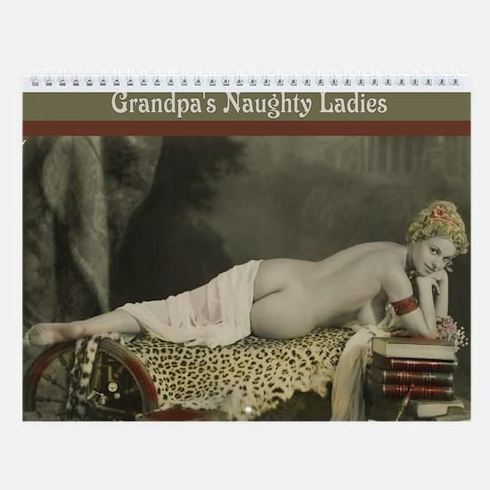 Grandpa's Naughty Ladies Wall Calendar