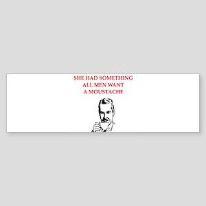 E Bumper Sticker