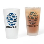 Greece World Cup 2014 Drinking Glass
