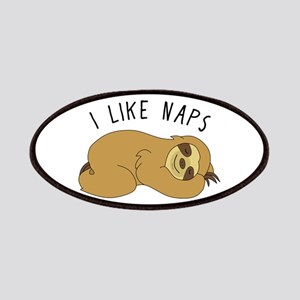 I Like Naps - Napping Sloth Patch