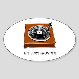 The Vinyl Frontier Sticker
