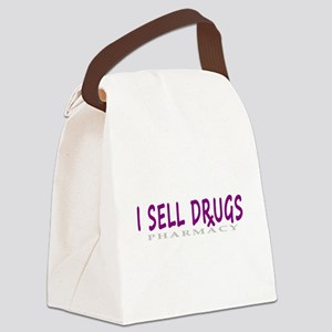 I Sell Drugs Canvas Lunch Bag