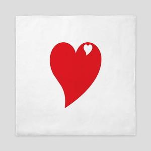 Valentine Heart Queen Duvet