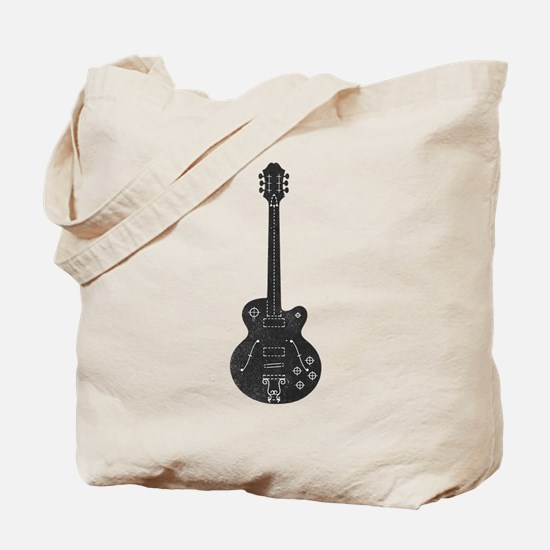 Spec Guitar Tote Bag