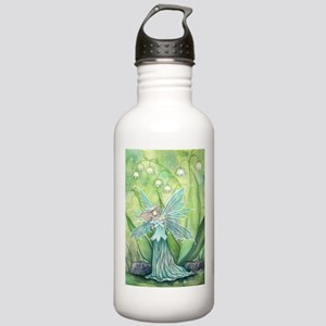 Lily of the Valley Fairy Art Water Bottle