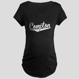 Compton, Retro, Maternity T-Shirt