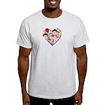 Japan World Cup 2014 Heart Light T-Shirt
