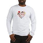 Japan World Cup 2014 Heart Long Sleeve T-Shirt