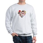 Japan World Cup 2014 Heart Sweatshirt