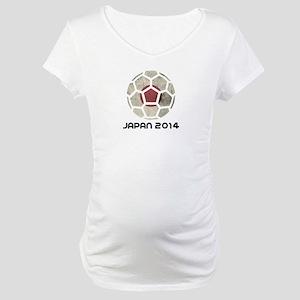 Japan World Cup 2014 Maternity T-Shirt