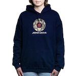 Japan World Cup 2014 Women's Hooded Sweatshirt