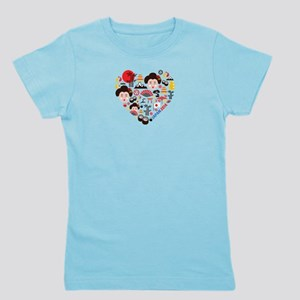 Japan World Cup 2014 Heart Girl's Tee